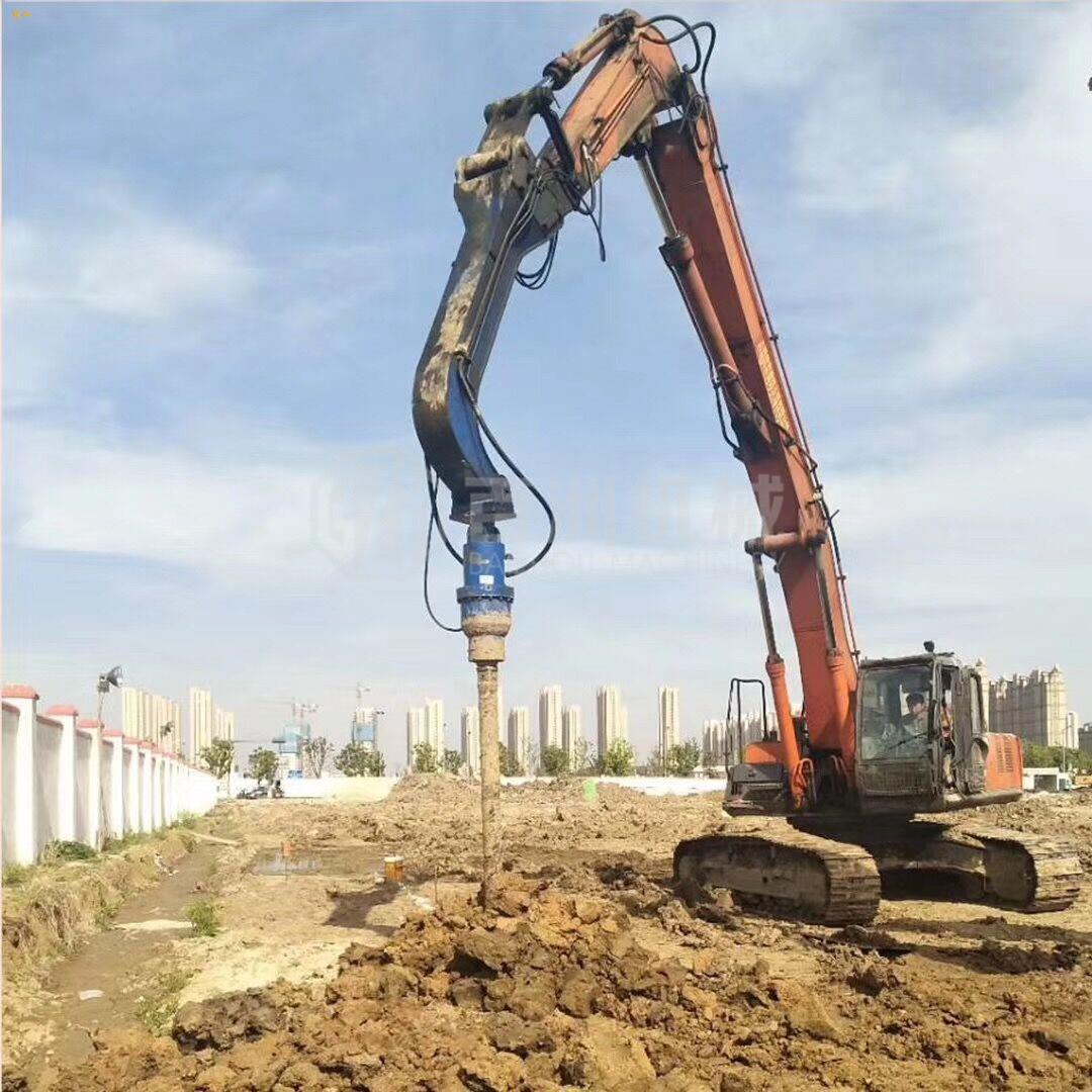 电杆钻坑用旋挖钻机钻孔螺旋钻洞机厂家直销