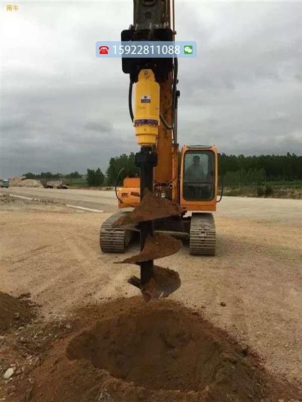重庆现货护坡螺旋钻机锚固锚索穿管打孔机斜坡挖洞机厂家