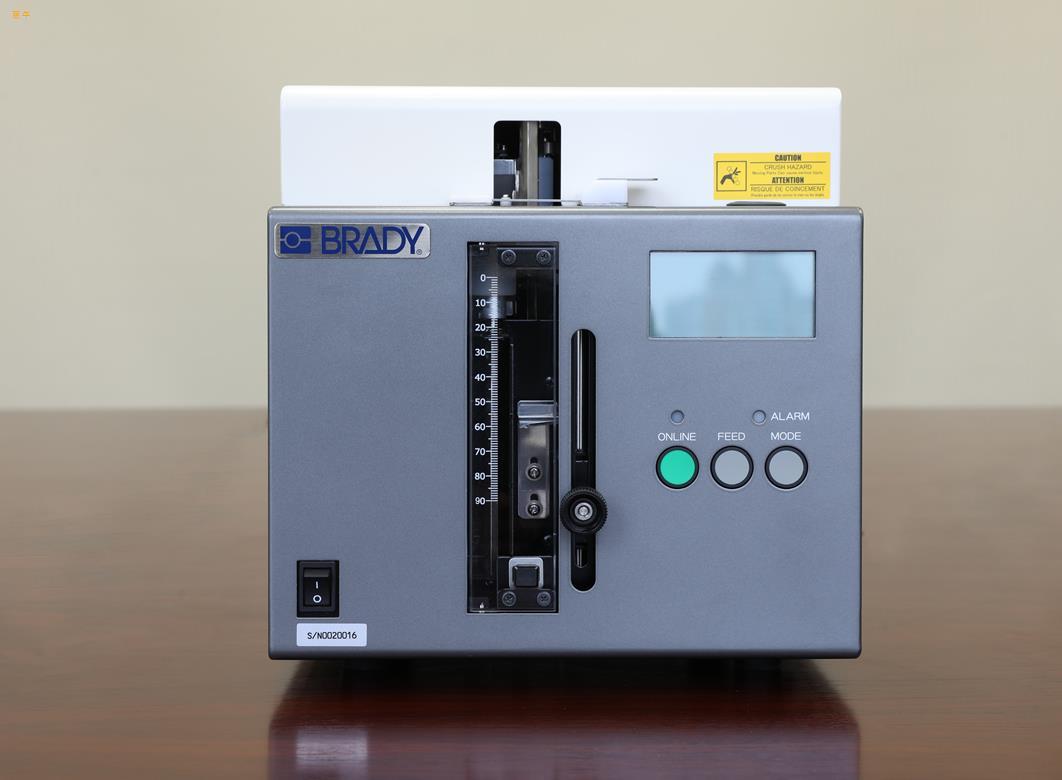 BradyLA1试管打印贴标一体机