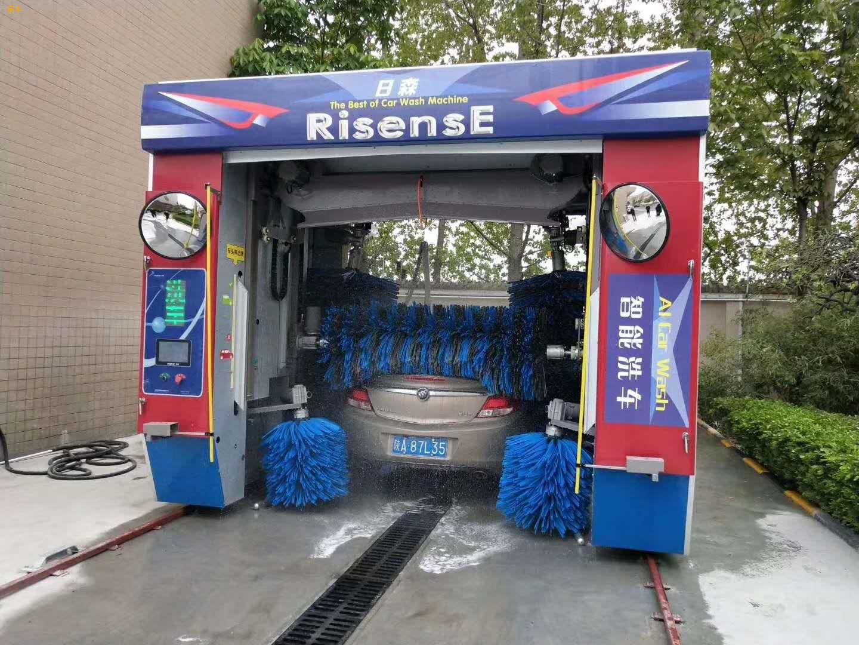 汽美店加油站用往复式龙门洗车机五刷智能洗车机包售后