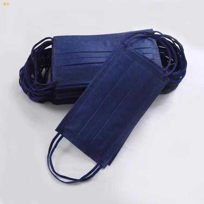 福建厂家供应蓝色一次性口罩95加可定制