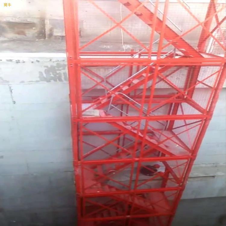 施工通道梯笼组合框架式梯笼建筑梯笼
