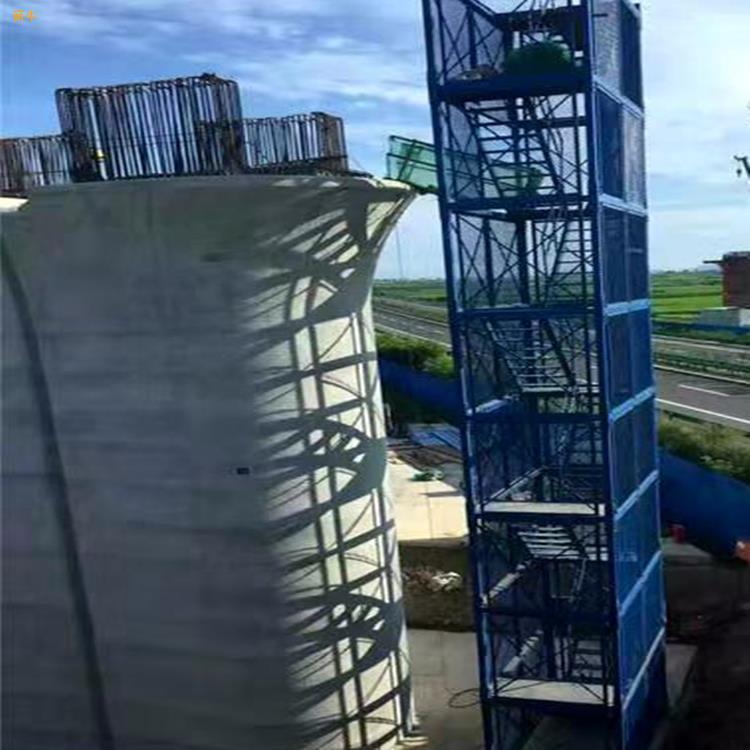 桥梁施工梯笼建筑梯笼高空安全梯笼