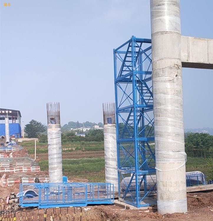 墩柱施工梯笼施工通道梯笼爬梯护笼